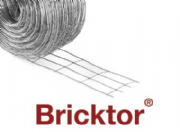 Bricktor Galvanised GBT60CCR 60mm x 25M